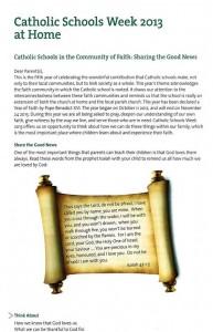 CatholicSchoolsWeek1