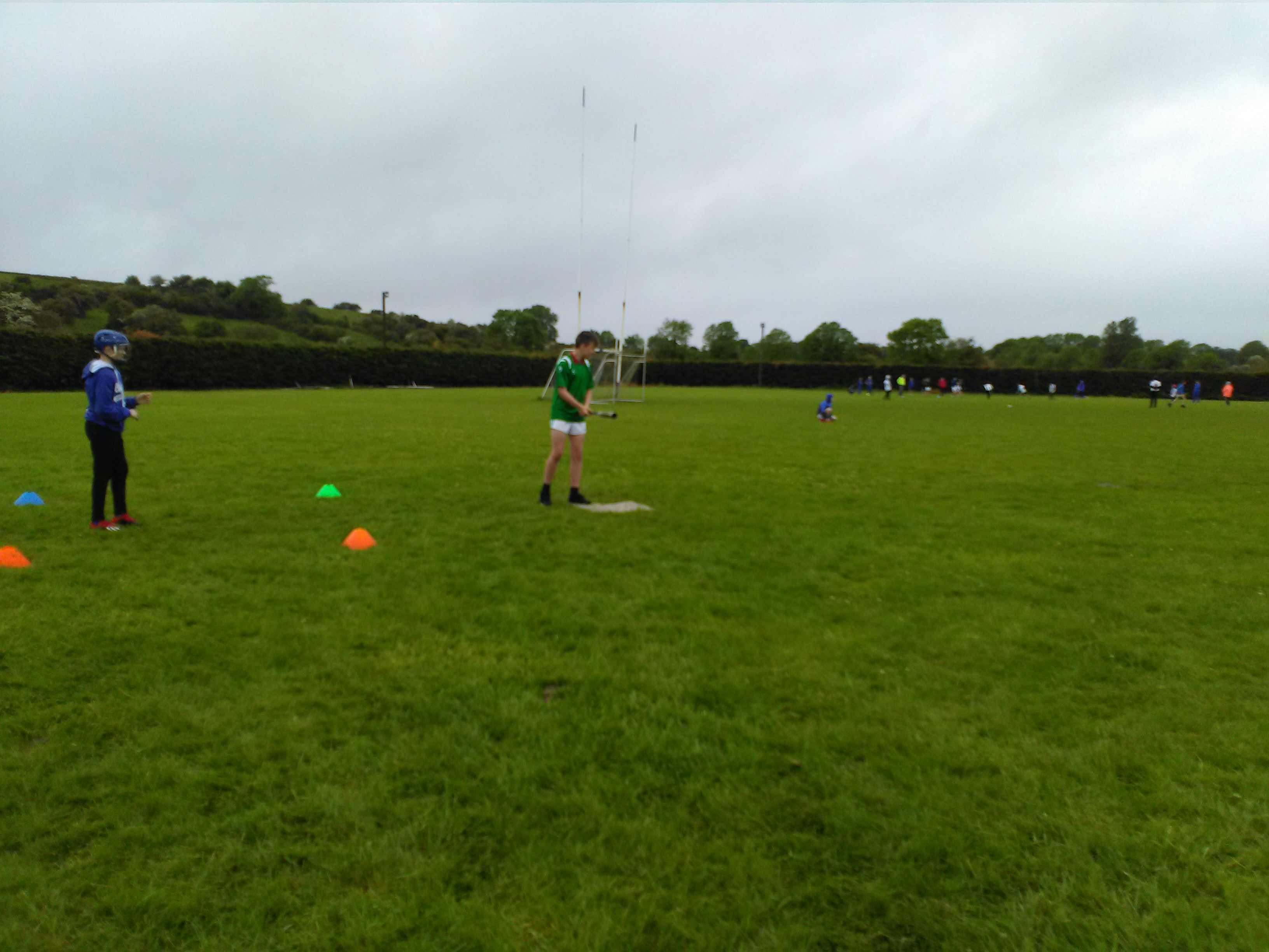 6th class students had a great day out at the rounders blitz in Ballyhane