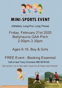 Mini Sports Event